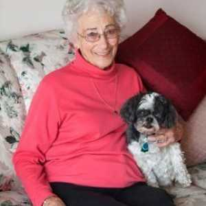 Dogs benefit the elderly